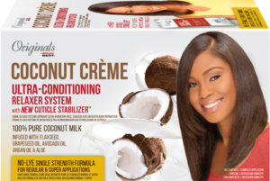 Africa's Best Originals Coconut Crème Ultra-Conditioning Relaxer System with New Cuticle Stablilizer
