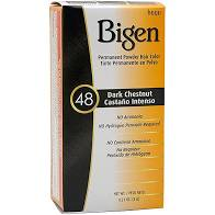 Bigen #48 Dark Chestnut Permanent Powder Hair Color