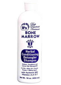 B's Deep Penetrait Treatment Bone Marrow Phase One Herbal Conditioning Detangler Shampoo