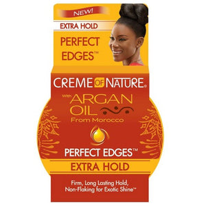 Crème of Nature with Argan Oil from Morocco Perfect Edges Extra Hold