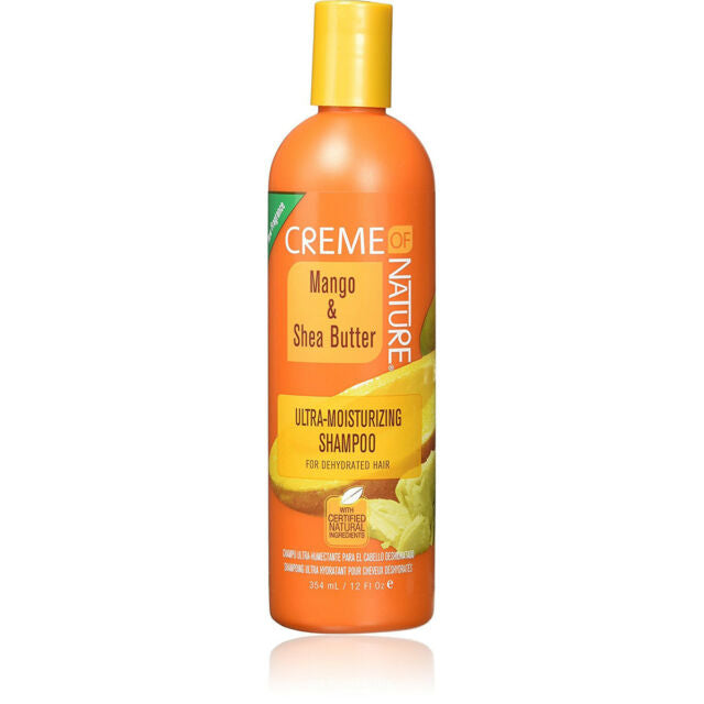 Crème of Nature Mango & Shea Butter Ultra-Moisturizing Shampoo for Dehydrated Hair