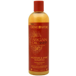 Crème of Nature with Argan Oil from Morocco Sulfate-Free Moisture & Shine Shampoo