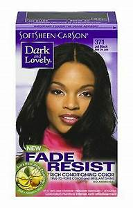 Dark and Lovely Fade Resist Hair Color #371 Jet Black