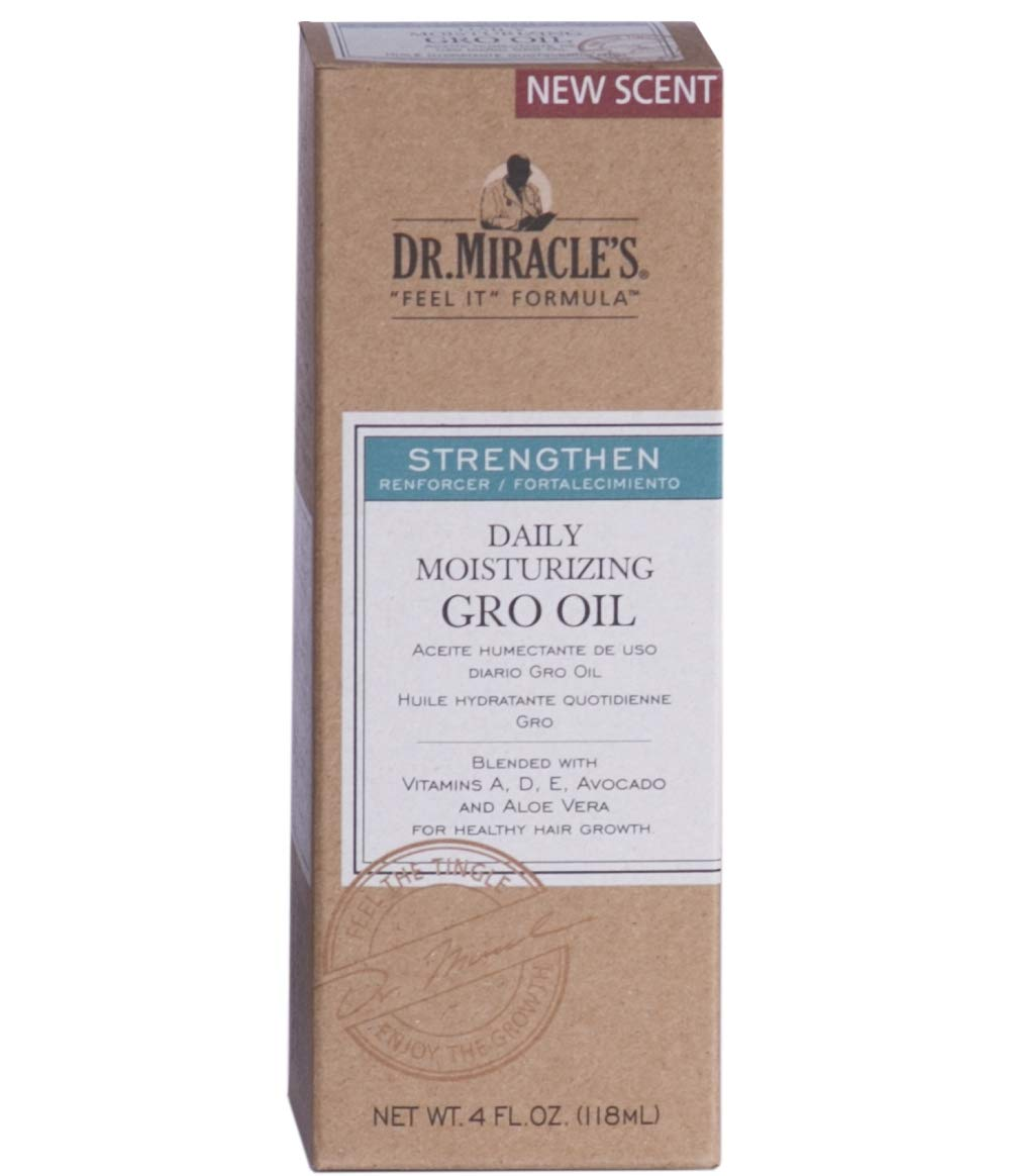 Dr. Miracle Strengthen Daily Moisturizing Gro Oil