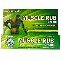 Dr. Sheffield's Muscle rub Cream Topical Analgesic
