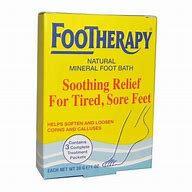 Foot Therapy Natural Mineral Foot Bath