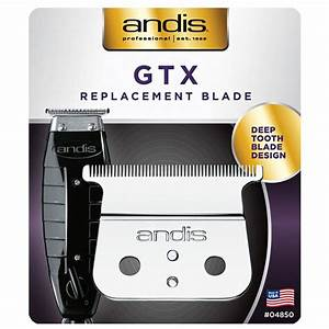 Andis GTX Replacement Comfot Edge Blade Deep Tooth Blade Design #04850