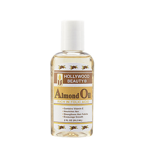 Hollywood Beauty Almond Oil Rich In Folic Acid