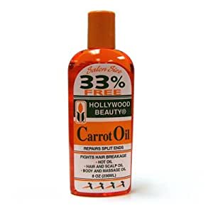 Hollywood Beauty Carrot Oil Repairs Split Ends