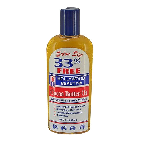 Hollywood Beauty Cocoa Butter Oil Moisturize & Strengthens
