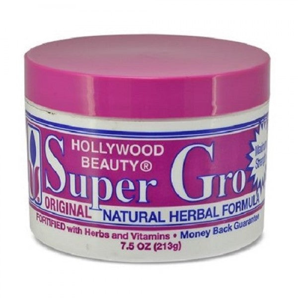 Hollywood Beauty Super Gro Original Natural Herbal Formula