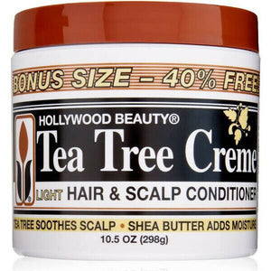 Hollywood Beauty Tea Tree Oil Crème Light Hair & Scalp Conditioner