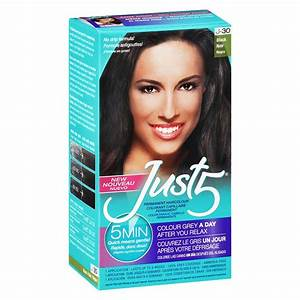 Just 5 Permanent 5 Minute  Hair color #J-30 Black