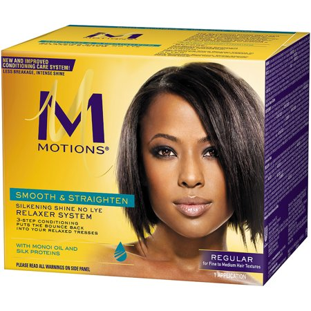 Motions Silkening Shine No Lye Relaxer System Regular