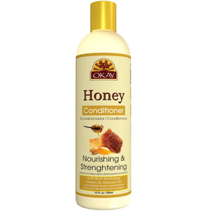 Okay Honey Conditioner Nourishing & Strengthening Sulfate Free Moisturizer