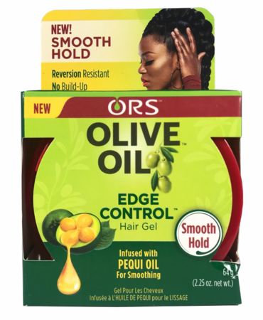 ORS Olive Oil Edge Control Hair Gel Infused with Pequi Oil for Smoothing