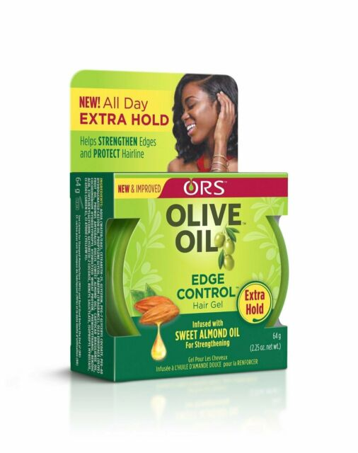 ORS Olive Oil Edge Control hair Gel Infused with Sweet Almond Oil