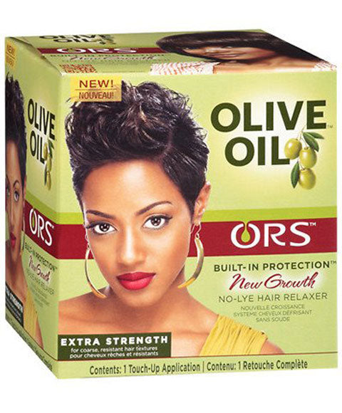 ORS Olive Oil New Growth No-Lye Relaxer Extra Strength Touch-Up