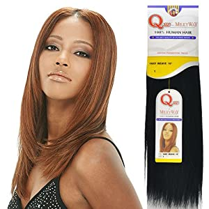 Shake N Go Que MilkyWay 100% Human Hair Remy