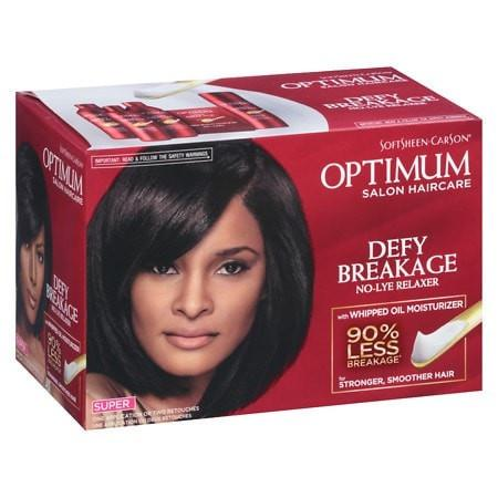 SoftSheen-Carson Optimum Defy Breakage No-Lye Relaxer Super