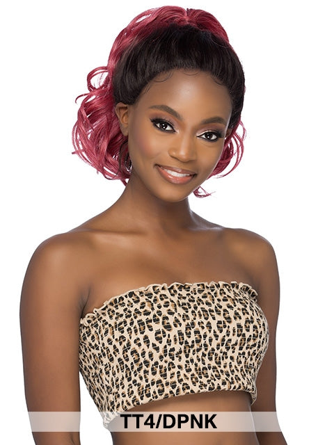 Vivica Fox Swiss Up Do Lace Front Wig