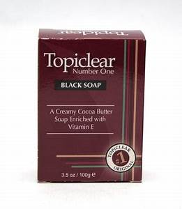 Topiclear Black Soap