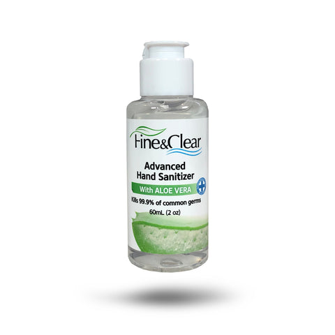 Fine & Clear 70% Alcohol with Aloe 2oz