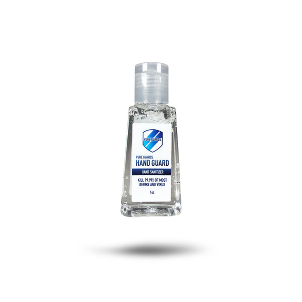 5 of Hand Guard Sanitizer 62% alcohol (1oz)