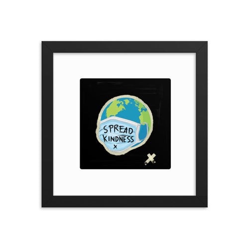 Spread Kindness - Framed Poster - 312 Supply + Co.