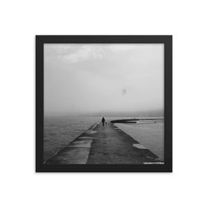 Foggy Chicago - Framed Photo Poster - 312 Supply + Co.