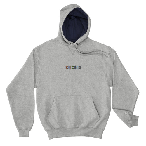 Chicago Materials Champion Hoodie - 312 Supply + Co.