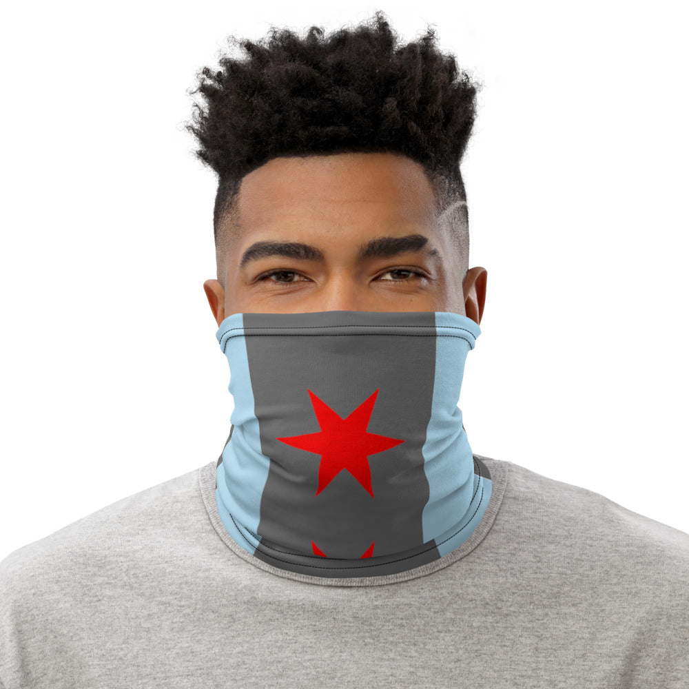 Chicago Flag Neck Gaiter - 312 Supply + Co.