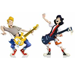 Nytf 2020 - Toony Classics Bill And Ted 2-Pack 6In Scale Action Figure
