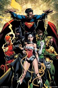 Justice League - Power 22In X 34In Poster