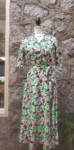 Women's Retro Floral Dress