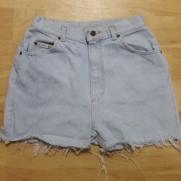 Vintage Lee Women's Jean Shorts 14P
