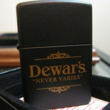Load image into Gallery viewer, Vintage Dewar's Genuine Zippo