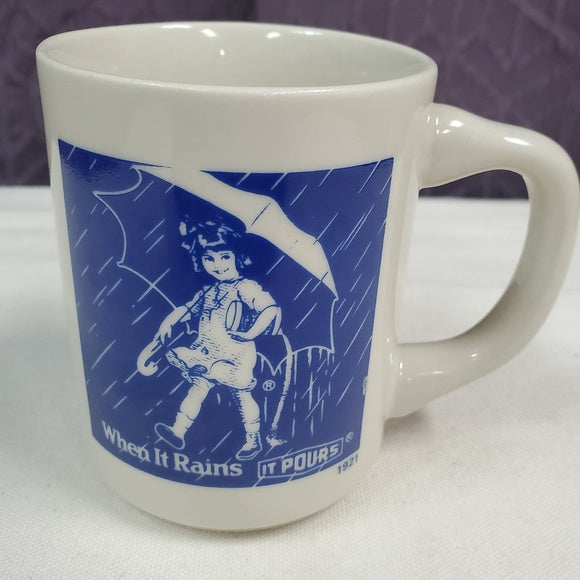 Vintage Morton's Salt Girl Collector's Mug
