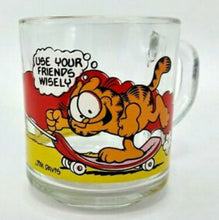 Load image into Gallery viewer, Vintage Garfield Collectible Glass Coffee Mug