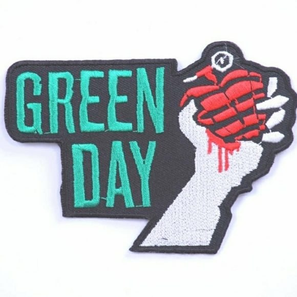 Green Day Band Patch