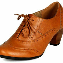 Load image into Gallery viewer, NEW Retro Women's Oxfords Shoes Size 6, 8.5, 10