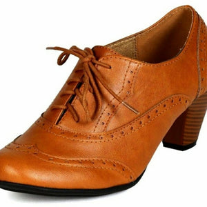 NEW Retro Women's Oxfords Shoes Size 6, 8.5, 10
