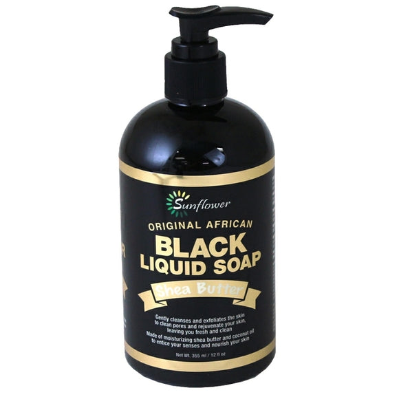 Black Liquid Soap 12 oz.