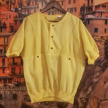 Load image into Gallery viewer, Vintage Yellow Sport Top