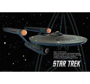 Star Trek - Enterprise 22In X 34In Poster
