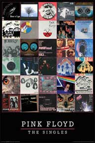 Pink Floyd - Singles 22In X 34In Poster