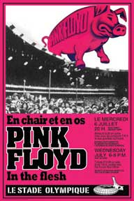 Pink Floyd - Concert 22In X 34In Poster