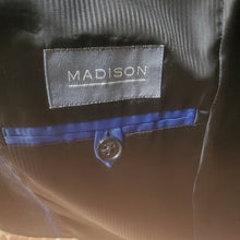 Load image into Gallery viewer, Men's Madison Pinstriped 2-pc Suit 40S