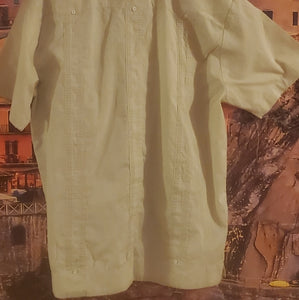 Vintage Men's Cuban Shirt Guayabera