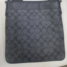 Load image into Gallery viewer, Coach Crossbody Bag Black Gray (Unisex)